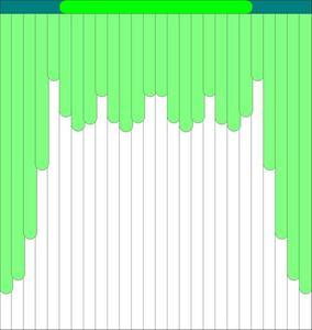 Мультифактурные жалюзи из ткани до 500 руб - Эскиз 1-1