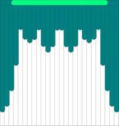 Мультифактурные жалюзи из ткани до 500 руб - Эскиз 1-2