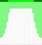 Мультифактурные жалюзи из ткани до 500 до 705 руб - Эскиз 2-1