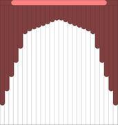 Мультифактурные шторы из ткани от 1000 до 1200 руб - Эскиз 2-2