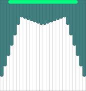 Мультифактурные жалюзи из ткани до 706 до 950 руб - Эскиз 2-3