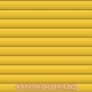 Горизонтальные алюминиевые жалюзи 25 мм ЦВЕТ-309 ЖЕЛТЫЙ