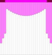 Мультифактурные жалюзи из ткани до 500 руб - Эскиз 4-1