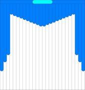 Мультифактурные жалюзи из ткани до 500 руб - Эскиз 4-2