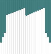 Мультифактурные жалюзи из ткани до 500 руб - Эскиз 4-3
