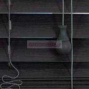 АНТРАЦИТ ЭЛЕГАНТ - БАМБУКОВЫЕ ГОРИЗОНТАЛЬНЫЕ ЖАЛЮЗИ АБСОЛЮТ Coulisse ГОЛЛАНДИЯ - 50 мм ламели