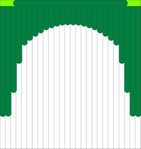 Мультифактурные жалюзи из ткани до 500 руб - Эскиз 6-1