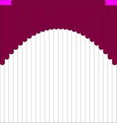 Мультифактурные шторы из ткани от 1000 до 1200 руб - Эскиз 6-2