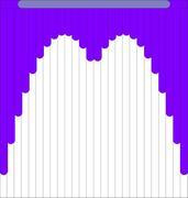 Мультифактурные жалюзи из ткани до 500 руб - Эскиз 6-4