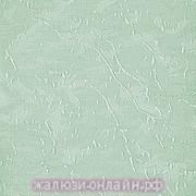 АЙС 27 САЛАТОВЫЙ - Ламели вертикальные из ткани без карниза - цена за 1 кв. метр с грузилами и цепочкой