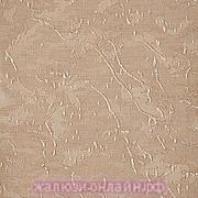 АЙС 30 КОРИЧНЕВЫЙ - Ламели вертикальные из ткани без карниза - цена за 1 кв. метр с грузилами и цепочкой