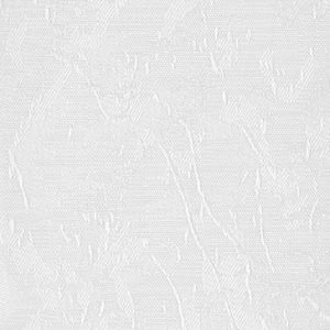 АЙС 01 БЕЛЫЙ - Ламели вертикальные из ткани без карниза - цена за 1 кв. метр с грузилами и цепочкой