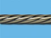 Антик твист - Цвет металлической трубы для цвета декоративного карниза