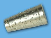 АЖУР САТИН - наконечник для металлического карниза - выбор формы и цвета