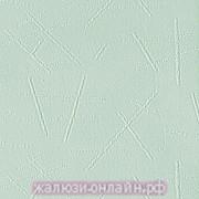 БАНСАЙ 44 САЛАТОЫЙ - Ламели вертикальные из ткани без карниза - цена за 1 кв. метр с грузилами и цепочкой