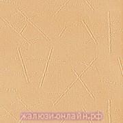 БАНСАЙ 47 ПЕРСИК - Ламели вертикальные из ткани без карниза - цена за 1 кв. метр с грузилами и цепочкой