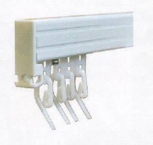 Барс - тип карниза для штор с французскими крючками с кордовым управлением на заказ шириной 180см