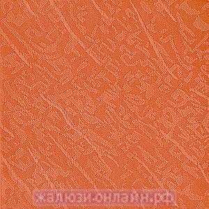 БЛЮЗ 99 АПЕЛЬСИН - Ламели вертикальные из ткани без карниза - цена за 1 кв. метр с грузилами и цепочкой