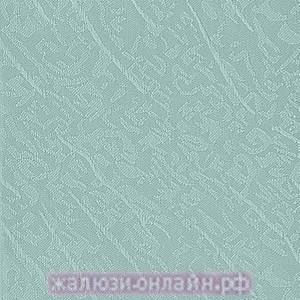 БЛЮЗ 37 БИРЮЗА - Ламели вертикальные из ткани без карниза - цена за 1 кв. метр с грузилами и цепочкой