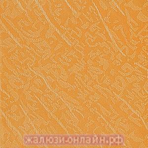 БЛЮЗ 95 ОРАНЖЕВЫЙ - Ламели вертикальные из ткани без карниза - цена за 1 кв. метр с грузилами и цепочкой