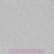 БЛЮЗ 08 СЕРЫЙ - Ламели вертикальные из ткани без карниза - цена за 1 кв. метр с грузилами и цепочкой