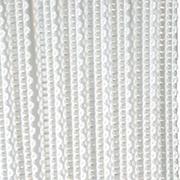 Верёвочные БРИЗ белый 0225 - цена за пог.м. высотой 3 метра