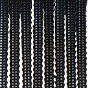 Верёвочные БРИЗ чёрный 1908 - цена за пог.м. высотой 3 метра