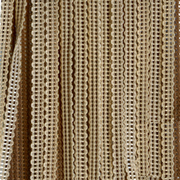 Верёвочные БРИЗ ДУБЛЬ бежевый 2262 - цена за пог.м. высотой 3 метра