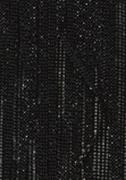 Верёвочные БРИЗ ДУБЛЬ чёрное серебро 1909 - цена за пог.м. высотой 3 метра