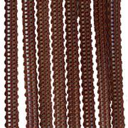Верёвочные БРИЗ темно-коричневый 2880 - цена за пог.м. высотой 3 метра