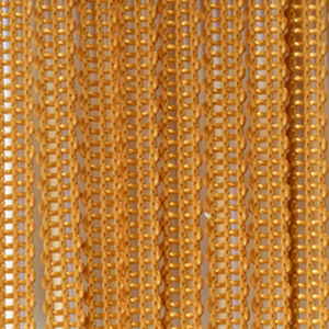 Верёвочные БРИЗ золотистый 2853 - цена за пог.м. высотой 3 метра