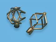 БУЛАВА АНТИК - наконечник для металлического карниза - выбор формы и цвета