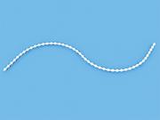Цепь управления 3 мм белая для горизонтальных или рулонных жалюзи - бобина 250 пог. метров