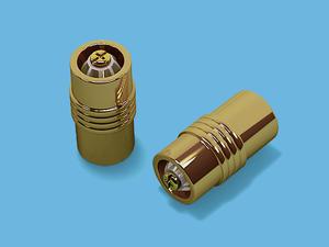ЦИЛИНДР ЗОЛОТО - наконечник для металлического карниза - выбор формы и цвета