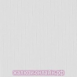 ДОЖДЬ 01 БЕЛЫЙ- Ламели вертикальные из ткани без карниза - цена за 1 кв. метр с грузилами и цепочкой