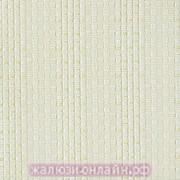ЭДЕМ 02 КРЕМОВЫЙ - Ламели вертикальные из ткани без карниза - цена за 1 кв. метр с грузилами и цепочкой