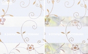 INTEGRA SLIM DUO - Рулонные шторы ЗЕБРА из ткани ELEGANT БЕЛЫЙ - Цена за 1 пог. метр высоты