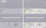 INTEGRA BOX DUO - Рулонные шторы ЗЕБРА из ткани ELEGANT СЕРЫЙ - Цена за 1 пог. метр высоты