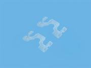 Фиксатор лесенки для горизонтальных жалюзи - цена за 1 пог. метр.