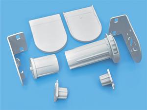 ROLL - Блок управления 25 мм металлический для рулонных штор - цена за 1 комплект