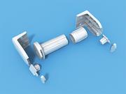 ROLL - Блок управления 25 мм пластик для рулонных штор - цена за 1 комплект