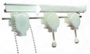 Открытая система для французских штор шириной 180 см на заказ любой размер