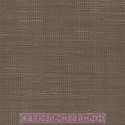 ХАНОЙ 30 КОРИЧНЕВЫЙ - Ламели вертикальные из ткани без карниза - цена за 1 кв. метр с грузилами и цепочкой