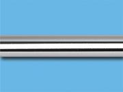Хром гладкий - Цвет металлической трубы для декоративного карниза