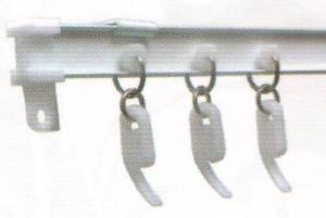 I-профиль - для легких и средних штор, гнется, для арок, эркеров и дуг цена за 180 см не гнутого