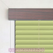 Кассетные горизонтальные жалюзи цвет-2303-ЖЕМЧУГ ПОД МАХАГОН - 25 мм