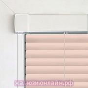 INTEGRA G-FORM - КАССЕТНЫЕ Горизонтальные жалюзи цвет-3001 СВЕТЛОРОЗОВЫЙ - 25 мм