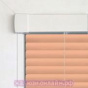INTEGRA G-FORM - КАССЕТНЫЕ Горизонтальные жалюзи цвет-502 ПЕРСИКОВЫЙ - 25 мм