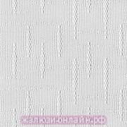 КЕНИЯ 01 БЕЛЫЙ - Ламели вертикальные из ткани без карниза - цена за 1 кв. метр с грузилами и цепочкой