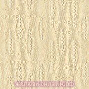 КЕНИЯ 02 КРЕМОВЫЙ - Ламели вертикальные из ткани без карниза - цена за 1 кв. метр с грузилами и цепочкой